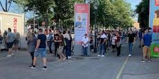 Impfung ohne Anmeldung wird in Wien gestürmt