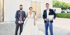 Mückstein crasht Hochzeit und verschenkt Babyelefanten