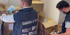 Polizei nimmt Covid-Zertifikat-Fälscherring hoch
