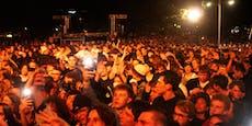 10.000 Jugendliche feiern bei Konzert am Karlsplatz