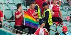 Das sagt die UEFA über konfiszierte Regenbogen-Fahne