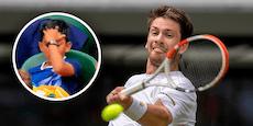 Federer-Gegner schießt in Wimbledon kleinen Buben ab