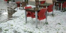 """Hagel, Gewitter, Hitze: """"April""""-Wochenende im Juli"""