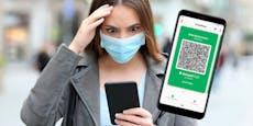 """""""Grüner Pass""""-App geht auf Millionen Handys nicht"""
