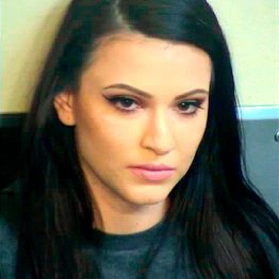 Tina Gonzalez auf einem Archivbild, das die Polizei bei ihrer Festnahme im Mai 2020 veröffentlichte.