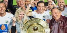"""First Vienna FC: """"Gemma Lugner"""" bis zum Klassenaufstieg"""