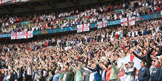 Volle Tribünen im Wembley-Stadion