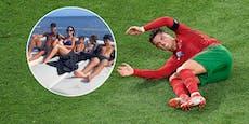 So verdaut Superstar Ronaldo sein EM-Aus