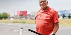 78-Jähriger verfolgt Einbrecher (49) und klärt Fall