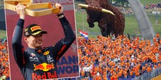 Party in Orange für Spielberg-Dominator Verstappen