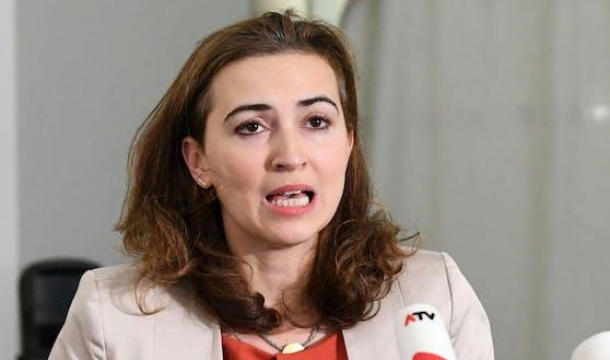 Justizministerin Alma Zadic.