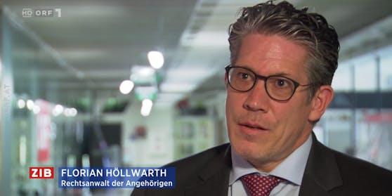 Rechtsanwalt Florian Höllwarth in der Zeit im Bild