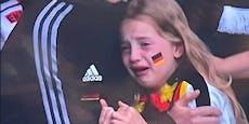 Hass gegen weinendes Mädchen: So reagieren die Fans