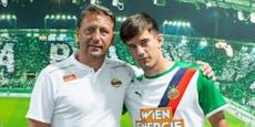 Deal fix! Rapid holt einen U21-Nationalspieler