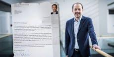 """""""Baier-Briefe"""" an Maturanten: SPÖ fordert Aufklärung"""