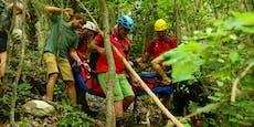 Griff auf Kletterroute brach aus– 36-Jähriger verletzt