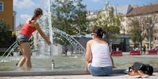 Bis zu 38 Grad – Gluthitze kommt auch auf Wien zu