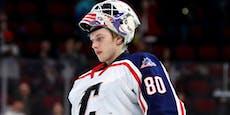 NHL-Tragödie! Eishockey-Goalie stirbt nach Sturz