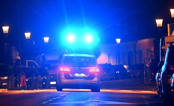 Mittwochabend rückte die Polizei samt WEGA-Beamten und Polizeihunden in Wien-Liesing an. 6 Burschen versuchten das Tor eines Geländes aufzubrechen. (Symbolbild)