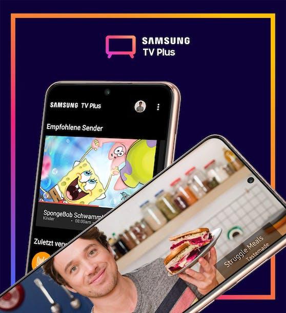 Die Samsung TV Plus-App steht Besitzerinnen und Besitzern von Samsung Galaxy-Smartphones und -Tablets ab sofort im Galaxy Store oder im Google Play Store zum Herunterladen bereit.