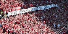 Vorteil England! Keine Dänen-Fans im Halbfinale erlaubt