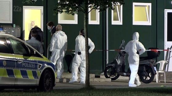 Am Sonntagabend kam es in einem deutschen Flüchtlingsheim zu einem tödlichen Messerangriff.