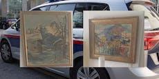 Vier Kunstwerke um 3.140 Euro spurlos verschwunden