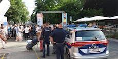 Ansturm auf Wiener Impfbox löst Polizei-Einsatz aus