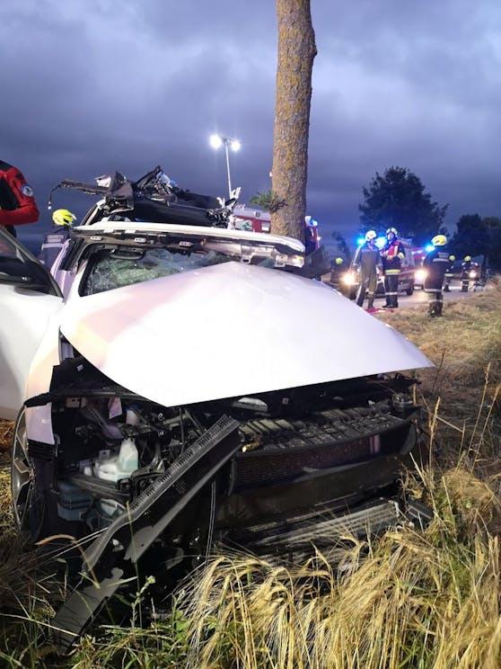 Schwerer Unfall in Markersdorf