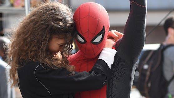 """Zendaya mit """"Spider-Man"""" Tom Holland"""