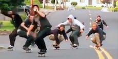 Ob saufen beim Skaten eine gute Idee ist?