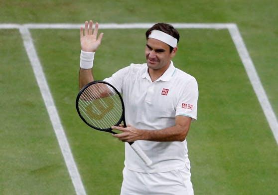 Federer steht zum 18. Mal im Wimbledon-Viertelfinale.