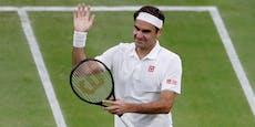 Federer-Gala in Wimbledon, Zverev schon draußen