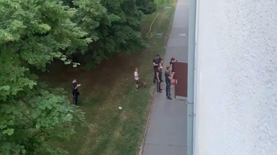 Die Polizei musste in den 23. Bezirk ausrücken.