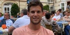 EM-Halbfinale: Thiem fiebert beim Italiener mit