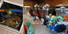 Mieter-Krieg in der Donaustadt – Haus völlig verwüstet