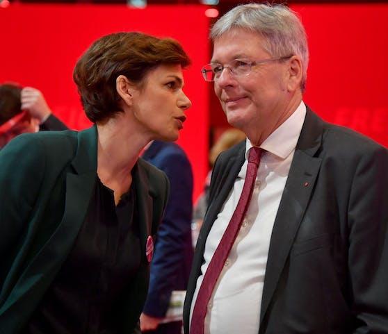Bundesparteivorsitzende Pamela Rendi-Wagner (SPÖ) und LH Peter Kaiser (SPÖ) (Archivfoto)