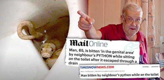 Der Python-Biss auf Grazer WC geht um die Welt.