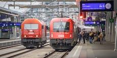 ÖBB verloren wegen Corona fast 40 Prozent der Fahrgäste