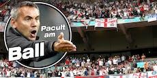"""Pacult: """"England-Heimvorteil ist heute kein Fair-Play"""""""