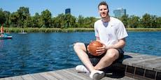 """NBA-Star Pöltl auf Wien-Besuch: """"Mir geht die Zeit aus"""""""