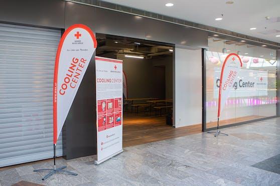 Auch heuer bietet das Cooling Center des Wiener Roten Kreuzes im SCN (Floridsdorf) eine Auszeit von der Sommerhitze.