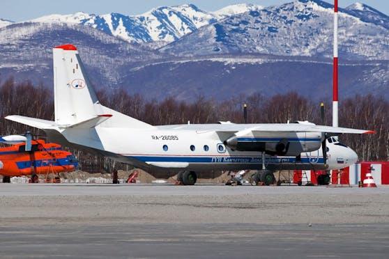 Dieses Foto der An-26 wurde von den Behörden veröffentlicht.