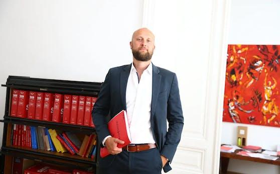 Anwalt Florian Kreiner vertritt den Tschetschenen.