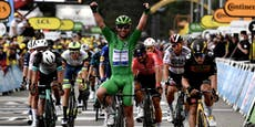 Cavendish rückt mit 33. Etappensieg Tour-Rekord näher