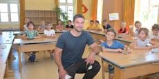 Hier besucht Weltmeister Kriechmayr seine Volksschule