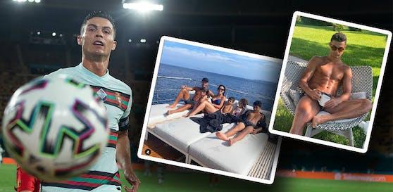 Cristiano Ronaldo holte im Urlaub die Torjäger-Krone bei der EM.