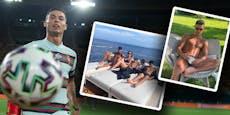 Ronaldo im Urlaub zum EM-Torschützenkönig gekürt