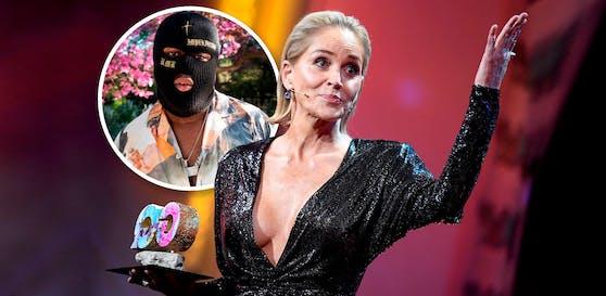 Sharon Stone soll Rapper RMR daten.