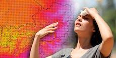 Gluthitze-Höhepunkt – so heiß wird es in deiner Region